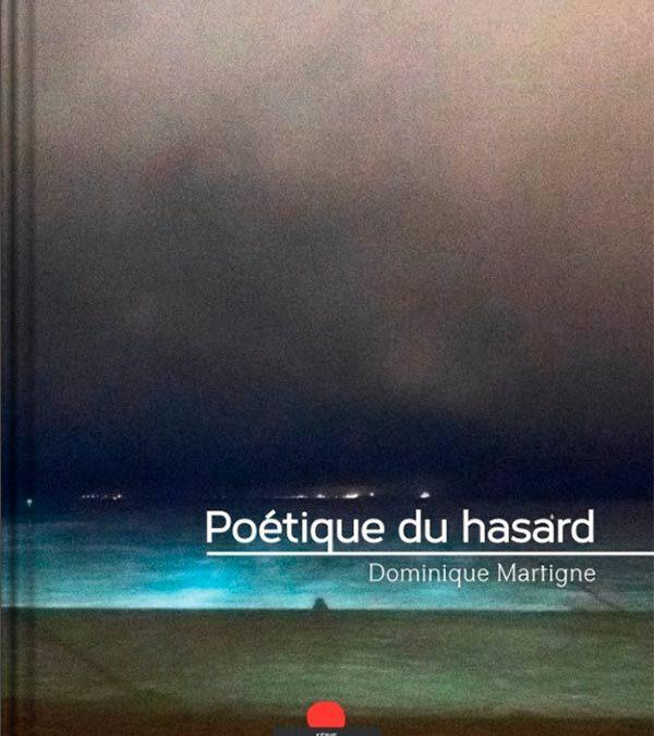 Poétique du hasard – le livre