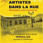 Artistes dans la rue <br />Versailles 17 septembre 2016