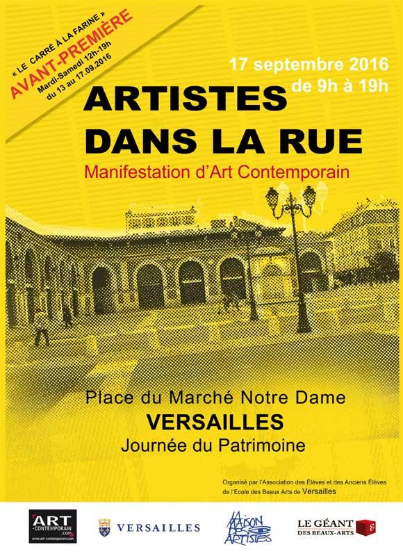 Artistes dans la rue Versailles 17 septembre 2016