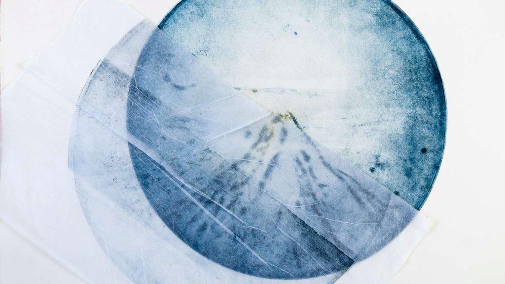 Mont Fuji - gravure D.Martigne 2018