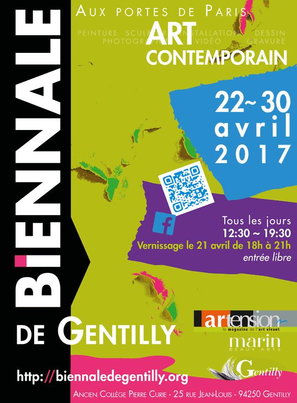 Exposition à la Biennale de Gentilly