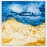 Un horizon bleu loitain  - Dominique Martigne - 15x15 cm - 2016
