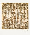 Bambous bruns 1- Dominique Martigne - 15x15 cm - 2016  - Dominiq