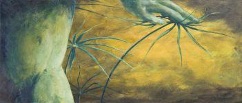 Le marais - Acrylique sur bois - 18x40 - 2007