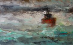 Temête - huile sur toile 40x60 - 2010