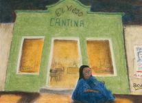 La cantina - Pastels - Dominique Martigne 1992