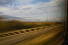 Paysage de train