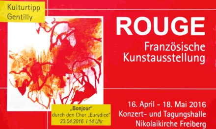 Exposition «ROUGE» à Freiberg (Allemagne) – avril/mai 2016