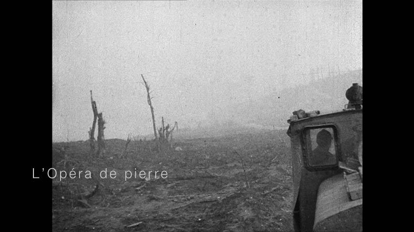 Le train de la guerre - Film l'Opéra de pierre réalisé par Dominique Martigne